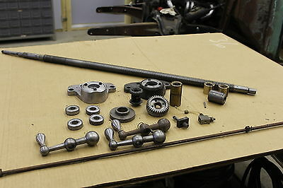 Bridgeport table screw and parts
