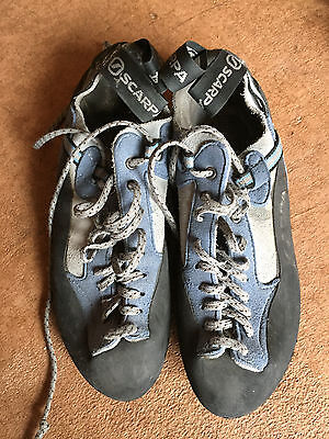 Scarpa women's climbing shoes W6.5/Euro37.5 - soles in great condition
