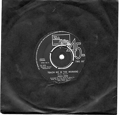 Diana Ross...touch Me In The Morning..tamla Motown..uk..45
