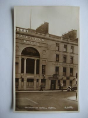 Collectable Postcard of Perth. Salutation Hotel. Scotland.