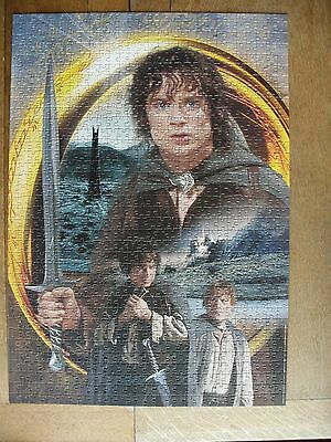 Ravensburger 1000 Jigsaw Puzzle Lord Of The Rings The Two Towers Used Complete
