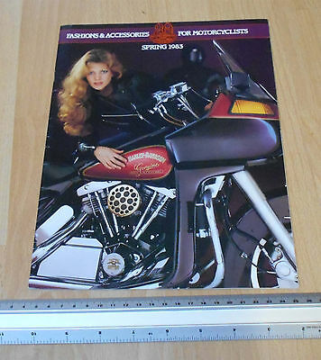Harley Davidson Fashions & Accessories Catalogue 1983