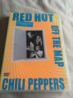 Red Hot Chili Dvd Off The Map Rhcp Job Lot Buy This Dvd Get My Other Two Include