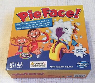 Pie Face Game Kids Fun Filled Family Game of Suspense BOX Package Gift Toys UK
