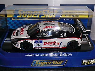 Scalextric Superslot Audi R8 LMS Porta Limited Edition H3236  --- NEU + OVP ---