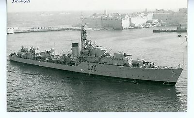 Royal Navy, Original Photo, HMS Solebay, Destroyer D70, 1958