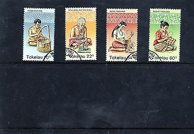 Tokelau Islands - 1982 F/used Handicrafts Set.