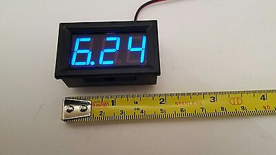 bait boat parts spares  lcd voltage dilsplay in blue