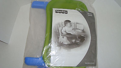 Fisher Price Healthy Care Booster Seat Replacement Blue Feeding Tray Cover Set