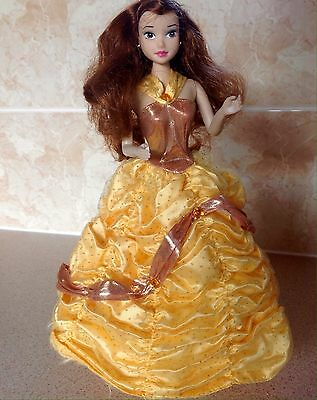 Disney Holiday Princess Belle Doll In Ballgown
