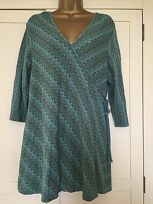 Next Maternity Top Size 20 Greens