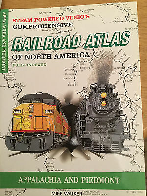 Railroad Atlas of North America Appalachia and Piedmont