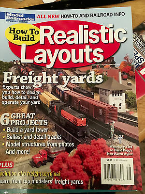 Model Railroader How to Build Realistic Layouts...Freight Yards