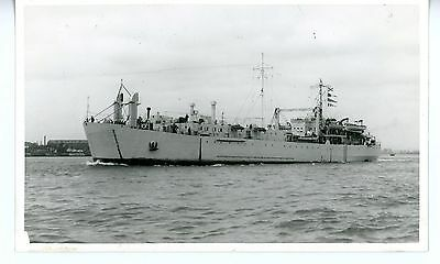 Royal Navy, Original Photo, HMS Ben Lomond , LST,  Wright & Logan, 1948