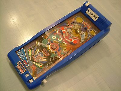 Rare Vintage 1990's Sonic The Hedgehog Pinball Game By Tomy. Free P&P!