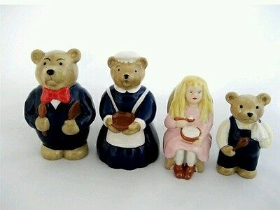 SALE! SALE! WADE collectables  - SET Goldilocks And The Three Bears with boxes.