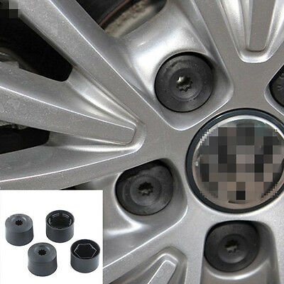 20X Wheel Nut Bolt Tire Screw Cover Cap Dust cover 17mm  For VW Volkswagen TSUS