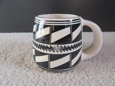 Ute Mountain Pottery Unique Pottery COFFEE MUG Padilla Indian Southwestern