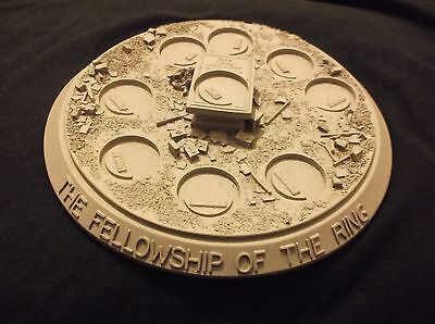 Fellowship Of The Ring Battle Of Balin's Tomb Mines Of Moria Scenic Display Base
