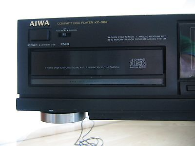 aiwa xc 002 cd player mit fernbedienung eur 29 00. Black Bedroom Furniture Sets. Home Design Ideas