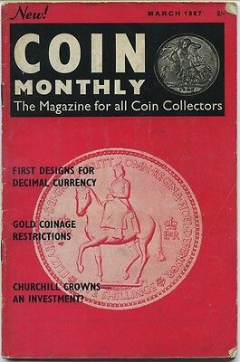 Coin Monthly March 1967 & Seaby's Bulletin June 1961