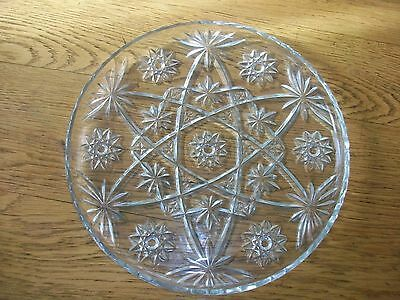 Anchor Hocking Early American Prescut Star Of David Serving Tray