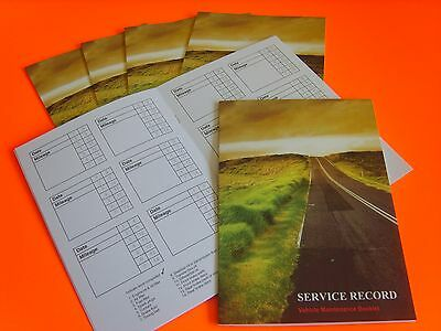 Blank Service History Book Unstamped All Model & Year Smart Cars Coupe Roadster