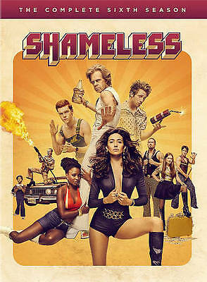 Shameless: The Complete Sixth Season 6 (DVD, 2016, 3-Disc Set) NEW