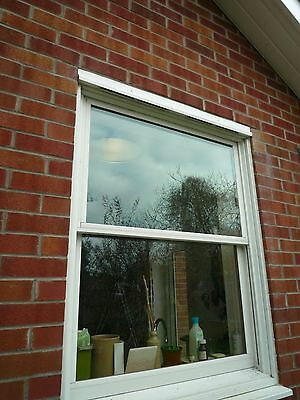Anderson double glazed timber/wooden and UPVC sash window.