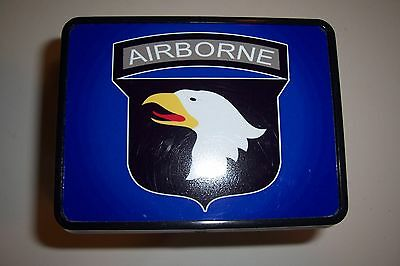 "101st SCREAMING EAGLES  AIRBORNE  NEW TRAILER HITCH COVER   2"" receiver"
