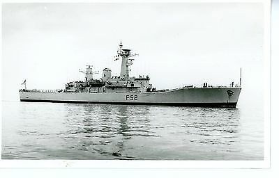 Royal Navy, Original Photo, HMS Juno, Frigate F52, Wright & Logan, 1987