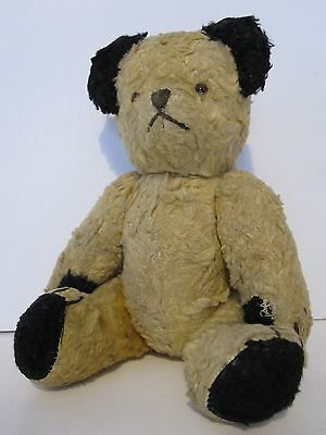 Vintage 1950's 60'sold Sooty style Teddy Bear