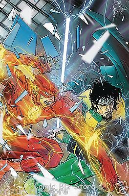 Flash #17 (2017) 1St Printing Dc Universe Rebirth Bagged & Boarded