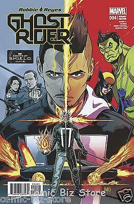 Ghost Rider #4 (2017) 1St Print Scarce Smith 1:25 Tv Variant Cover Marvel Now