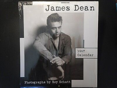 James Dean 1997 Calendar, Sealed In Original Packaging (Cat # 97045)
