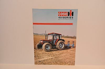 Case IH 40 Series 45-67hp tractor brochure rare in English language Doncaster