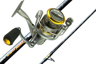 Okuma Avenger 80 Fishing Reel with 12 Foot Crystal Power Tip Fishing Rod