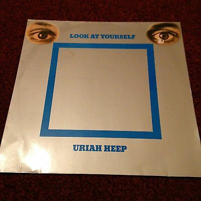 Uriah Heep Lp Look At Yourself Castle Reissue