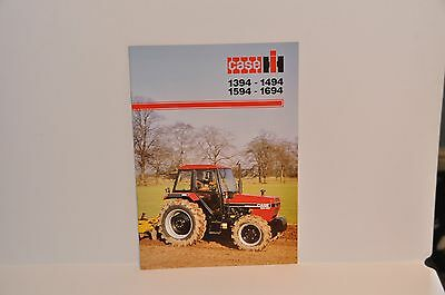 Case IH David Brown 94 Series 1594, etc tractor brochure 12 pages from 1987