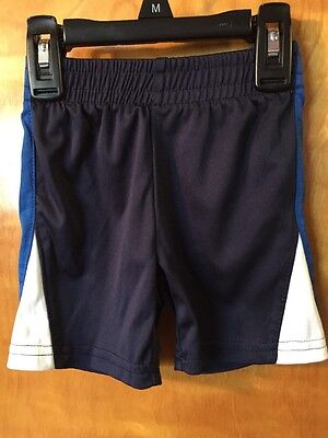 Infant Boys, Jumping Beans, Dark Blue, Athletic Shorts, Size 12 Months