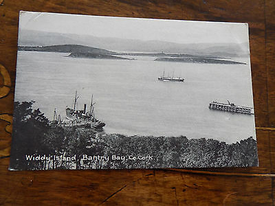 Widdy Island, Bantry Bay,  Co. Cork,  Ireland - Postcard 1921