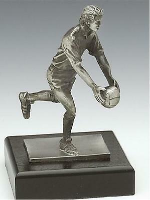 Gaelic FOOTBALLER Sculpture - Crafted in Ireland by Mullingar Pewter - GAA