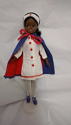 vintage sindy gayle doll dressed in nurse outfit all joints work sindys friend