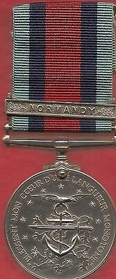 Early D/day Veterans Medal ,with The Normandy Clasp . By Award Productions Surry