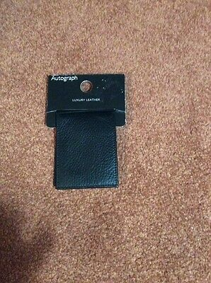 Autograph - Leather Card Holder - New