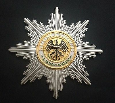 Museum Quality German Prussian Grand Cross Order Star Of The Black Eagle 1701