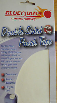 Glue Dots Double Sided Clear Punch Tape
