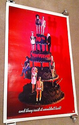 Rocky Horror Picture Show - Original 10Th Anniversary Withdrawn One Sheet Poster