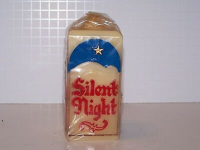 Silent Night Christmas Messages Jasco candle colorful bayberry scent