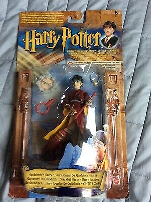 New rare carded Harry Potter Quidditch figure BNIB 2001